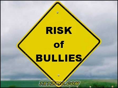 risks of bullying