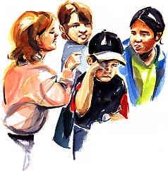 Gang-up-bullying